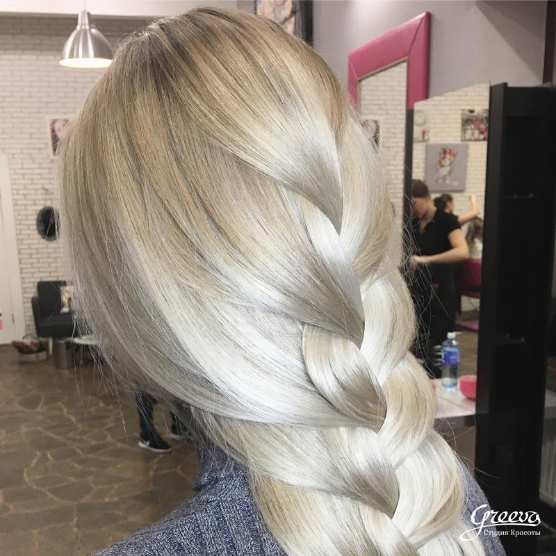 Плавные цвета, роскошные переходы — американский блонд