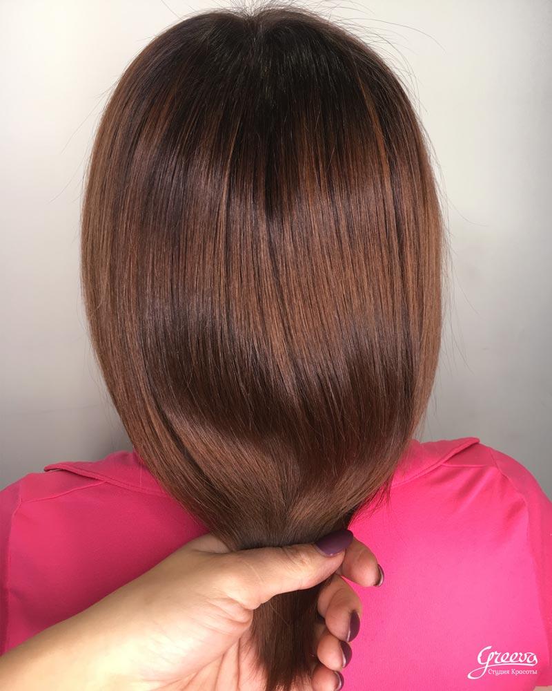 волосы после смывки