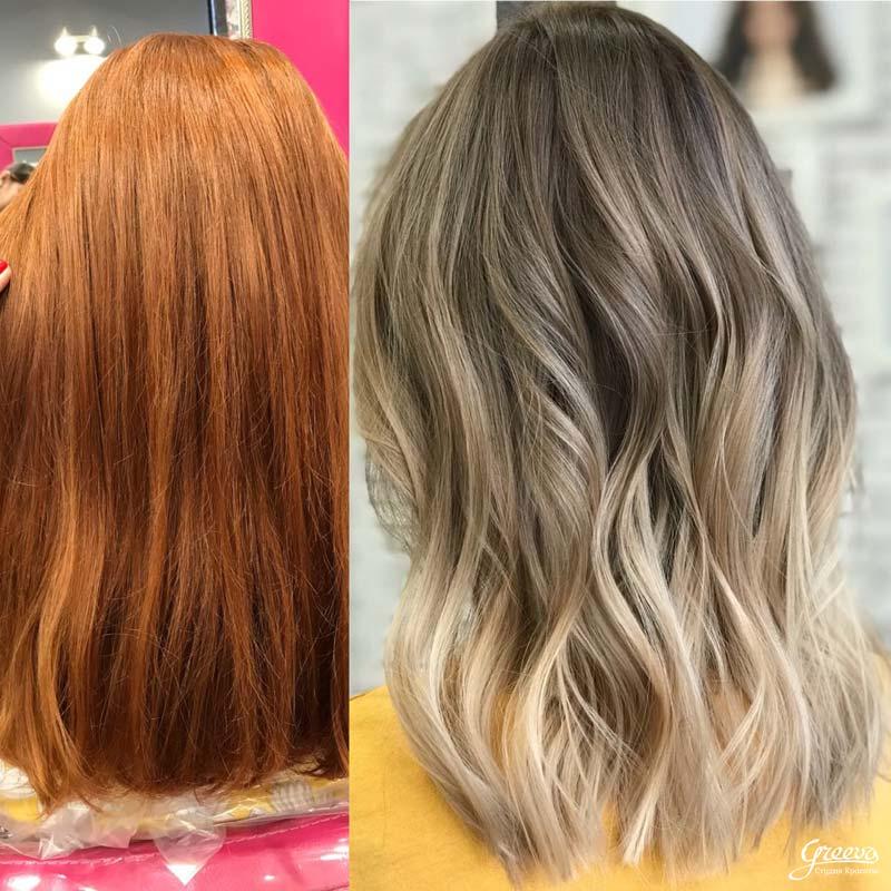 окрашивание блонд, уход за волосами для блондинок