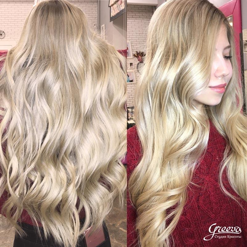 красивый блонд, уход за волосами для блондинок.