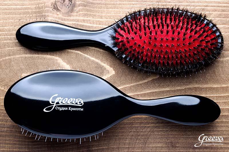 специальная расческа для наращенных волос