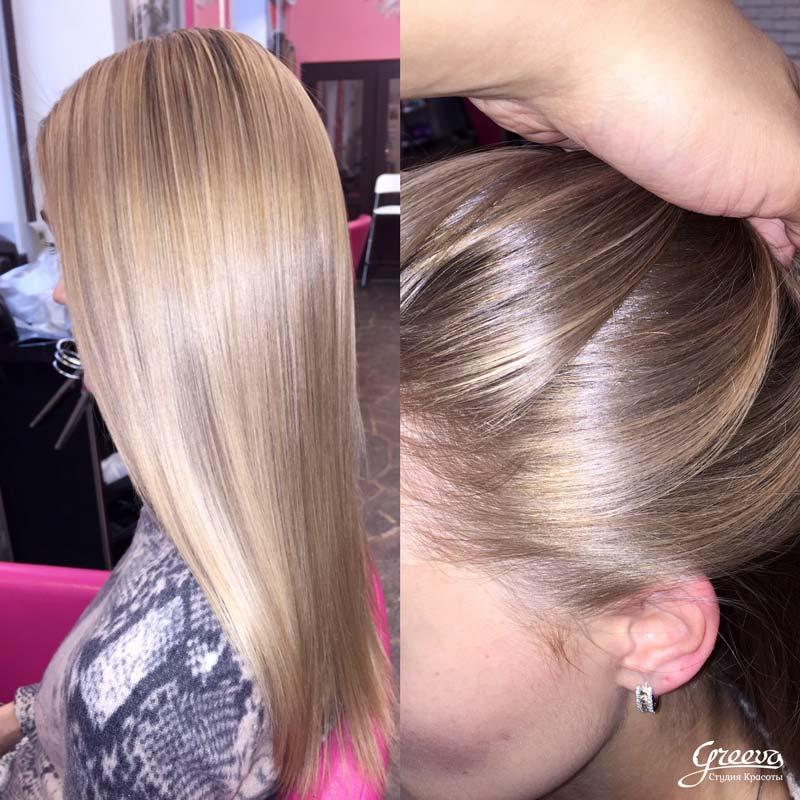 бейбилайтс, эффект выгоревших на солнце волос