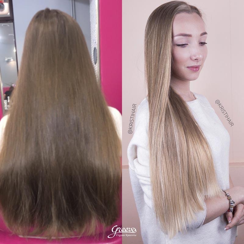 идеальное брондирование волос
