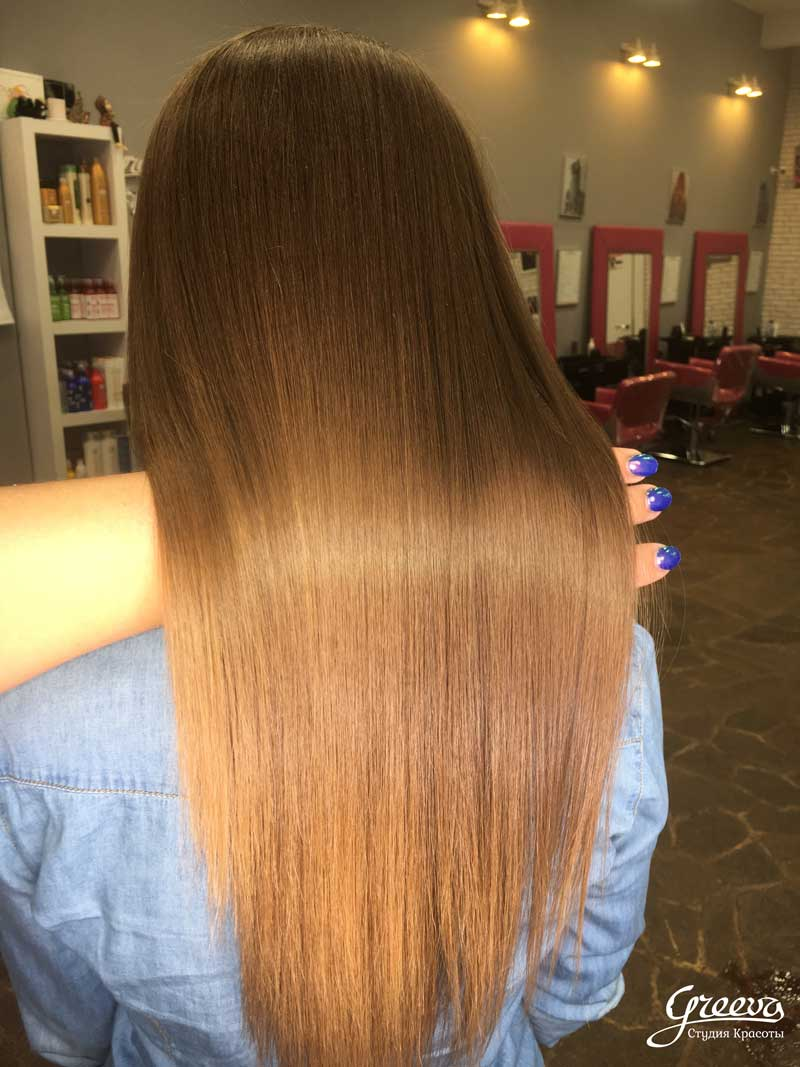 реконструкция для волос, волосы после реконструкции волос